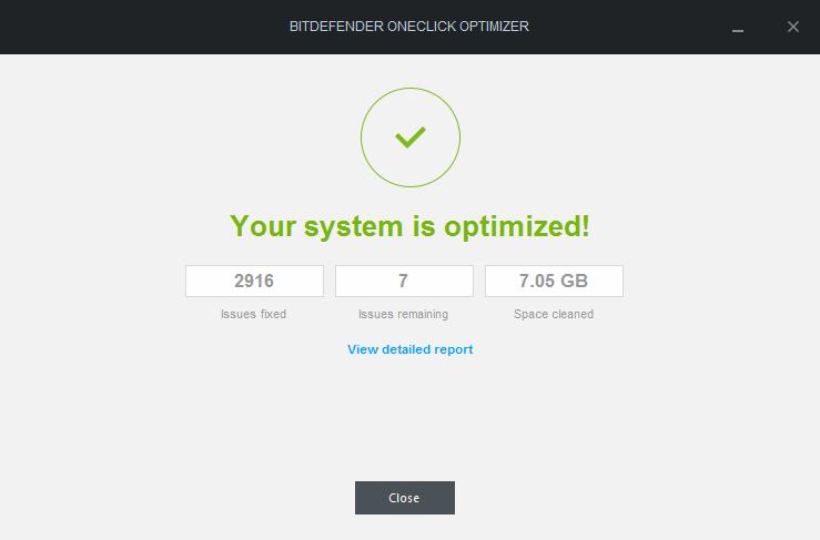 optimization result