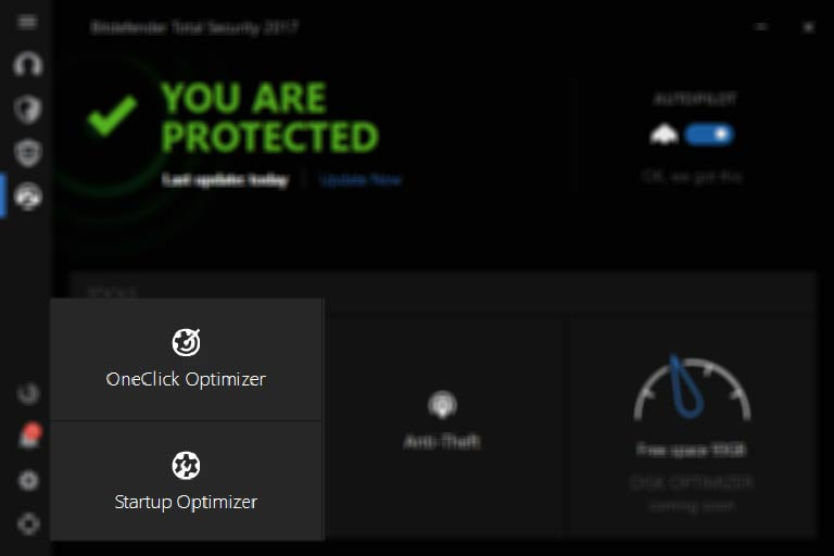 Bitdefender total Security Multi-Device 2017 Tools