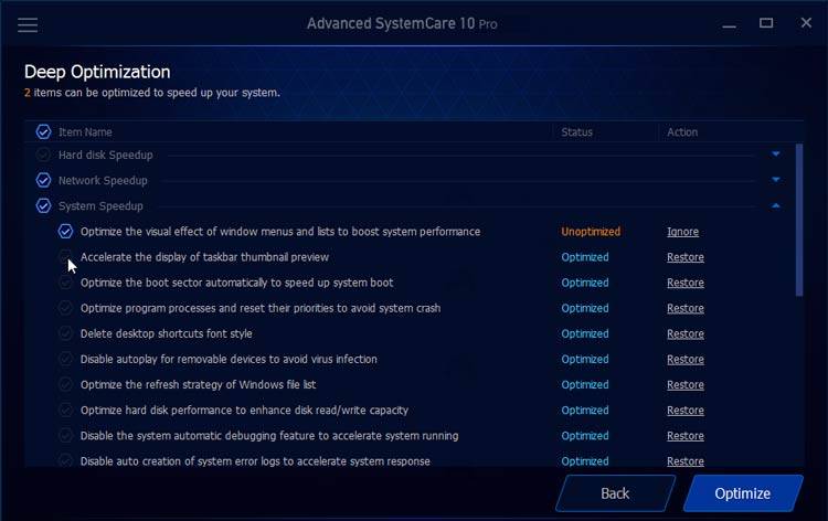 Advanced Systemcare 10 Pro Speedup Config Deep Optimization