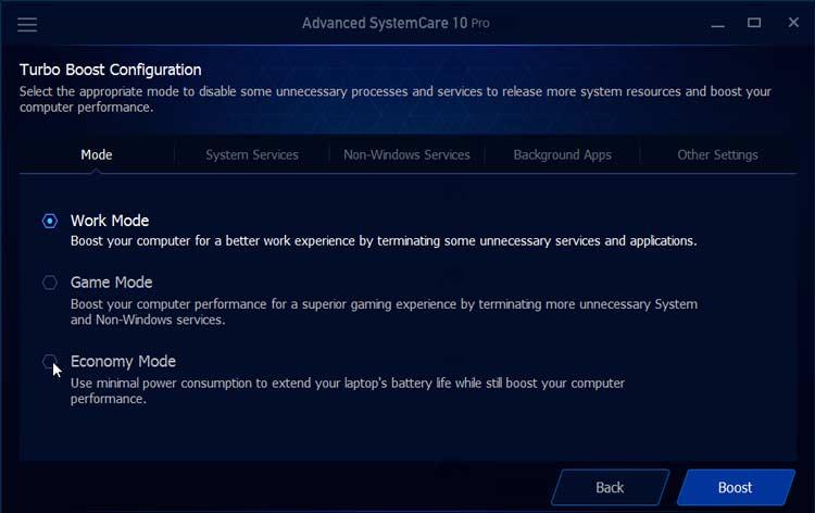 Advanced Systemcare 10 Pro Speedup Config