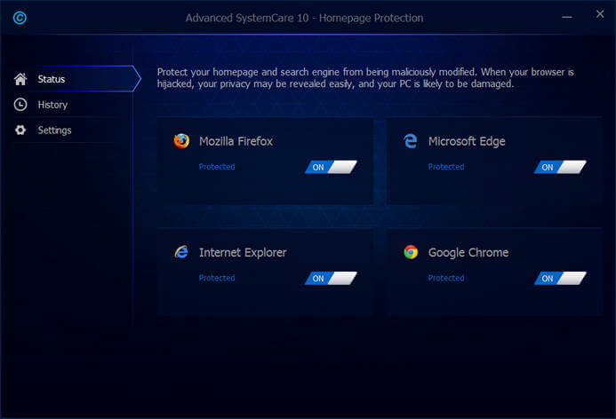 advanced systemcare 10 Pro Protection