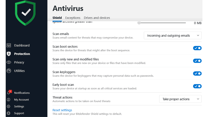 Bitdefender Total Security 2020 Antivirus