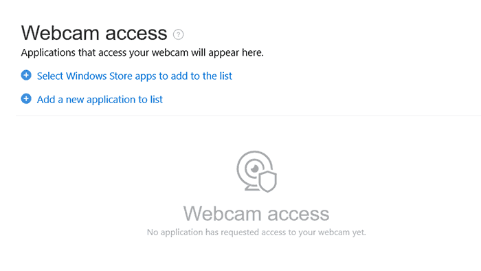 webcam protection in Bitdefender