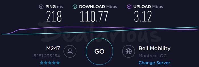Ivacy vpn canada server speed test