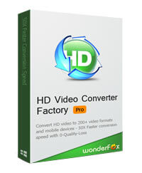 Wonderfox Video Converter HD box