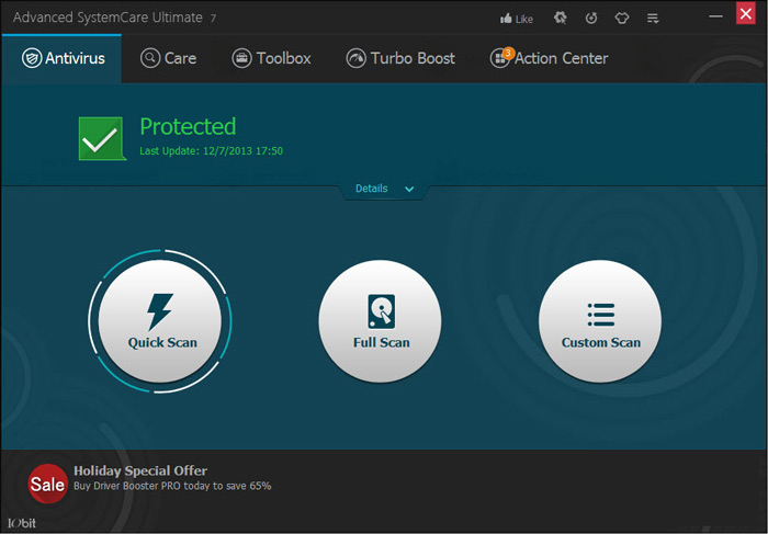 advanced system care antivirus review