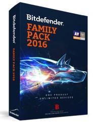 Bitdefender Family Pack 2016 Coupon Code