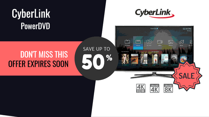 Cyberlink PowerDVD coupon codes