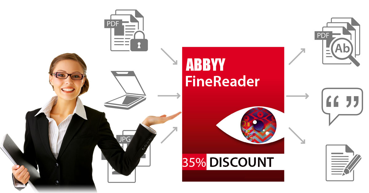 Discount coupons for abbyy