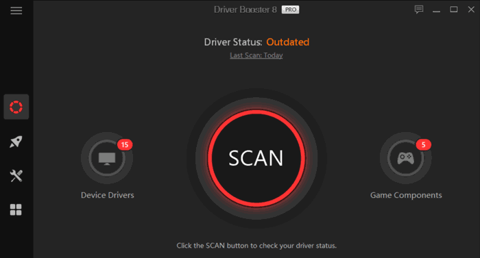 Driver Booster 8 Pro scan