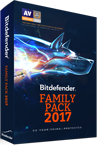 Bitdefender Family Pack 2017 compare