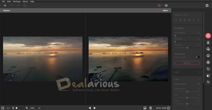 Movavi Picverse Editing